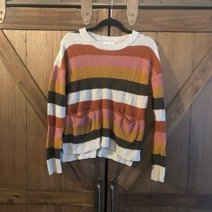 Madewell Stripe Sweater Size M